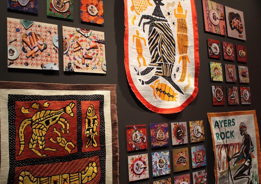ramsay art prize tony albert tanner muller exotica (mid century modern) Aboriginal Australian art