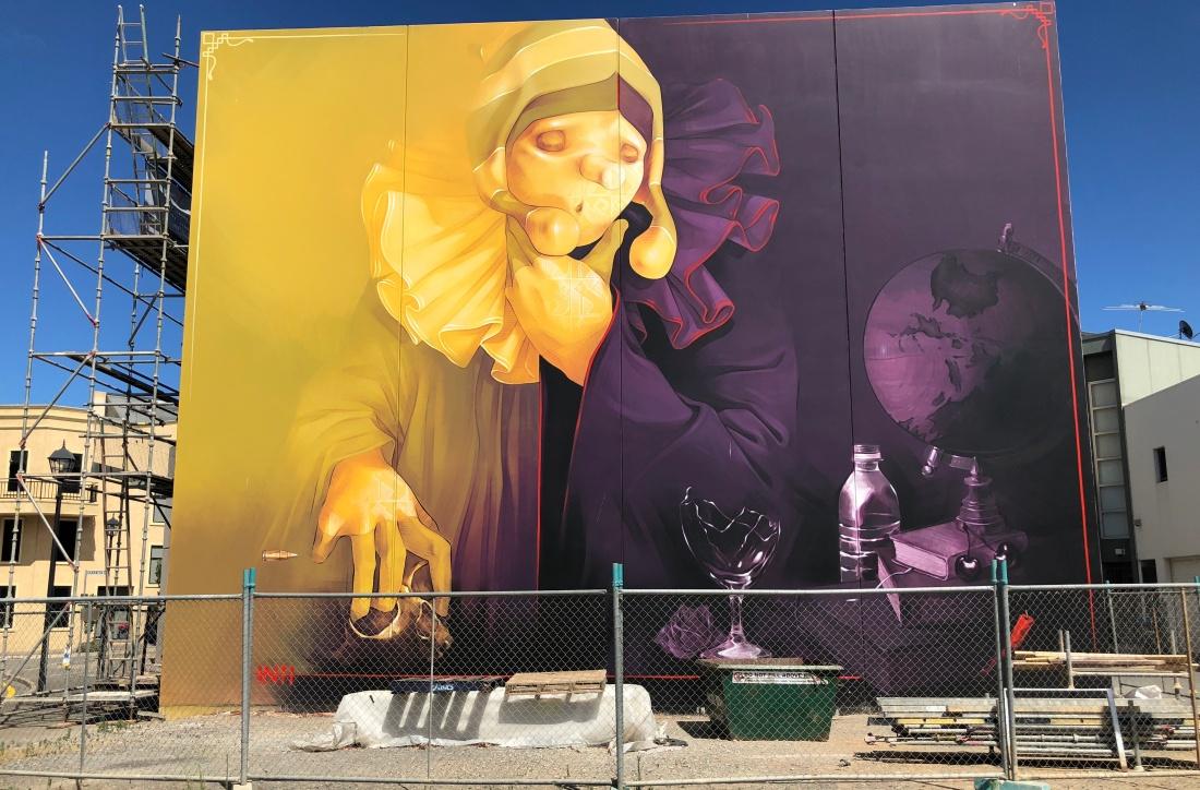 inti tanner muller carmen creative bible street art mural adelaide south australia port adelaide